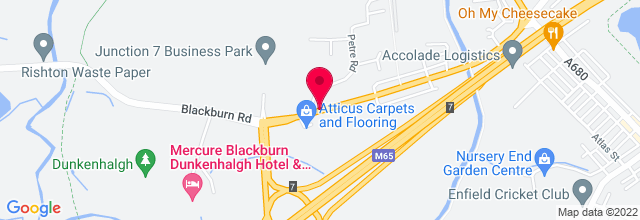 Map for The Dunkenhalgh Hotel