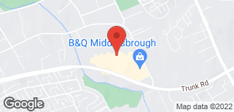 B&Q Warehouse Middlesbrough location