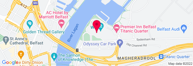 Map for Odyssey Arena