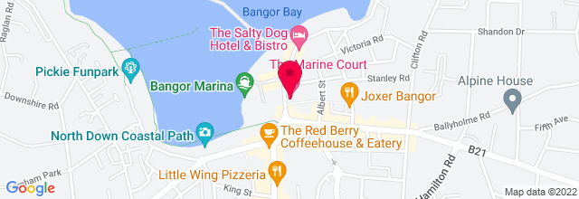 Map for Marine Court Hotel,