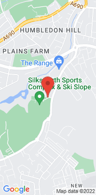 Map showing the location of the Sunderland Silksworth monitoring site