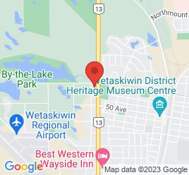 Google Map of 5402+-+56+Street%2CWetaskiwin%2CAlberta+T9A+2B3