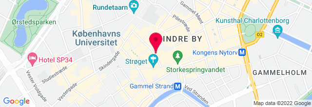 Map for Copenhagen Jazzhouse