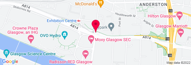 Map for Clyde Auditorium