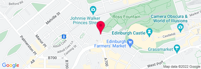 Map for Usher Hall