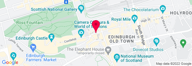 Map for Edinburgh Castle Esplanade