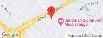 Google Map of 5500+Dixie+Road+Unit+G%2CMississauga%2COntario+L4W+4N3