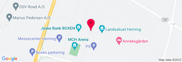 Map for MCH Messecenter Herning Kongrescenter