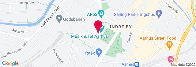 Map for Musikhuset
