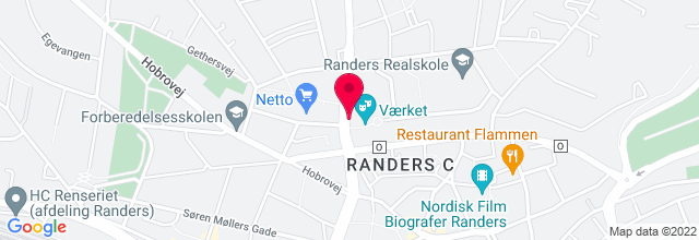 Map for Vaerket