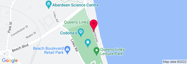 Map for Beach Ballroom