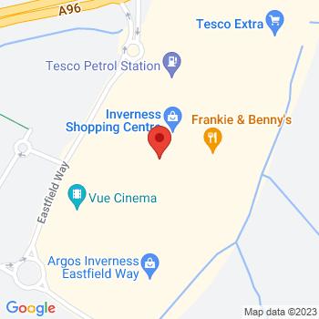 Argos Inverness Location on map