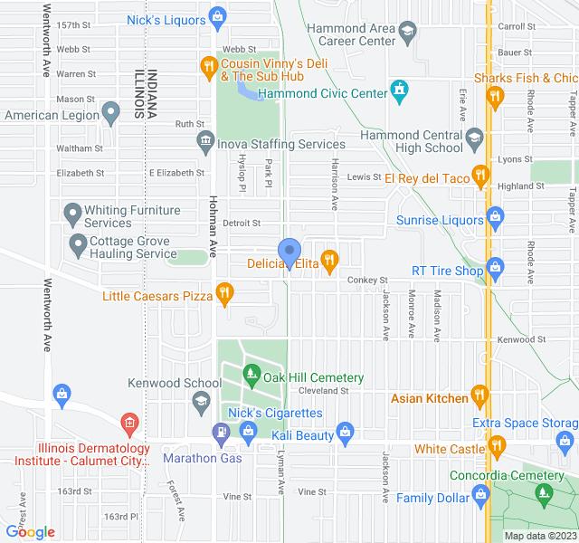 5825 Blaine Ave, Hammond, IN 46324, USA