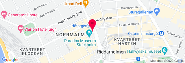 Map for Konserthuset