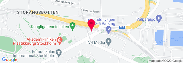 Map for Stockholm Stadion