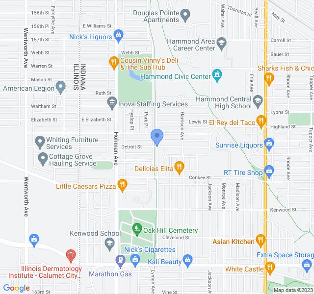 5999-5801 Blaine Ave, Hammond, IN 46324, USA