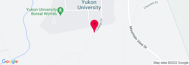 Map for Yukon Arts Centre