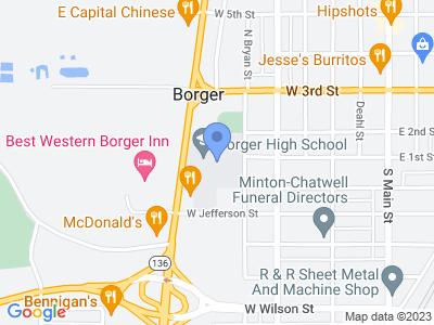 600 W 1st St, Borger, TX 79007, USA