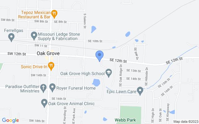 601 E 12th St, Oak Grove, MO 64075, USA