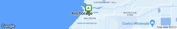 Map of Sacks Cafe & Restaurant