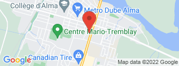 Google Map of 630+Avenue+Du+Pont+Sud%2CAlma%2CQuebec+G8B+2V4