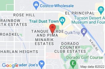 Google Map of 6377 E. Tanque Verde Road, Tucson, AZ, 85715