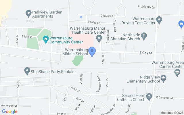 640 E Gay St, Warrensburg, MO 64093, USA