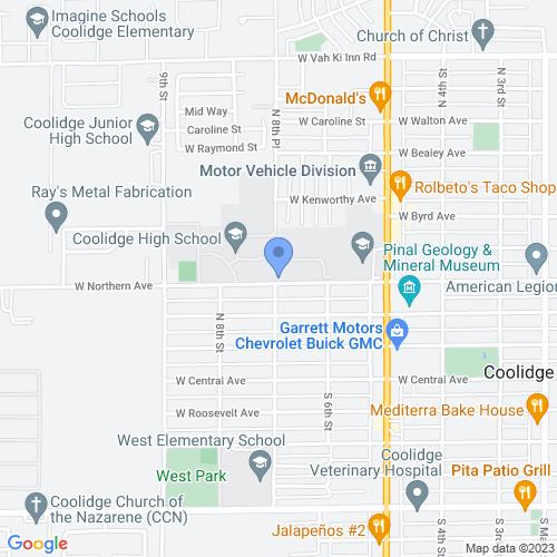 684 W Northern Ave, Coolidge, AZ 85128, USA