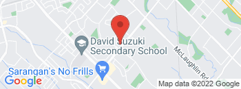 Google Map of 690+Queen+Street+West%2CBrampton%2COntario+L6X+3E1