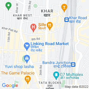 Google Map of 6th Floor, Gupte House, 81 S V Road, Near Khar Police Station, Khar (W), Mumbai