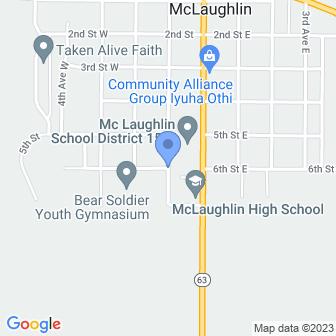 6th St, McLaughlin, SD 57642, USA