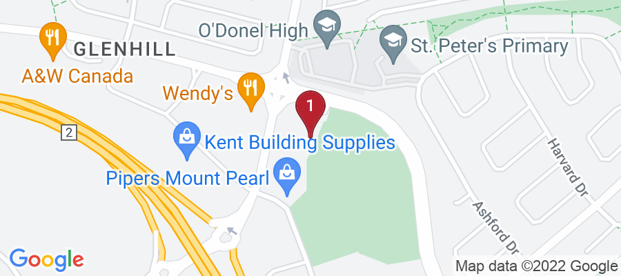 Google Map of 74 Old Placentia Rd,  Mount Pearl, NL, Canada