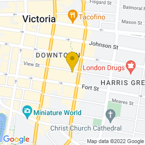 Map to Hermann's Jazz Club provided by Google