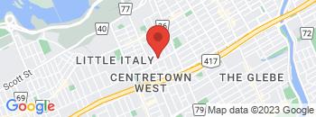 Google Map of 779+Gladstone+Avenue%2COttawa%2COntario+K1R+6X6