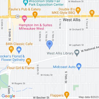 7815 W Lapham St, West Allis, WI 53214, USA