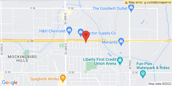 Google Map of 7905 L st omaha, ne