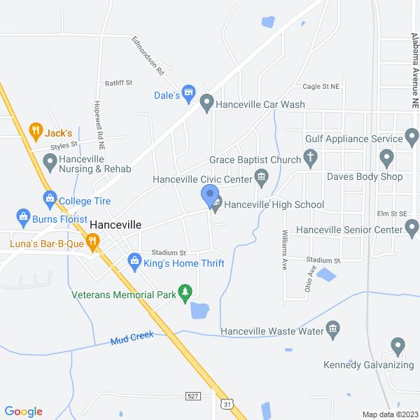 799 Commercial St SE, Hanceville, AL 35077, USA