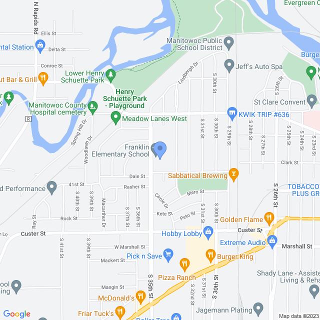 800 S 35th St, Manitowoc, WI 54220, USA
