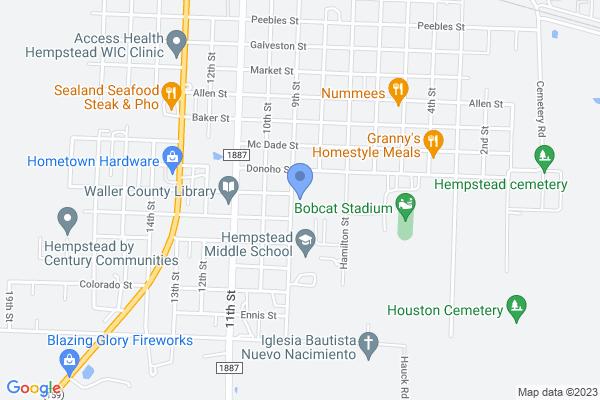 801 Donoho St, Hempstead, TX 77445, USA