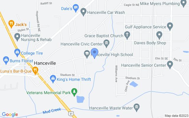 805 Commercial St SE, Hanceville, AL 35077, USA