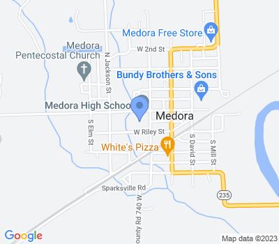 82 S George St, Medora, IN 47260, USA
