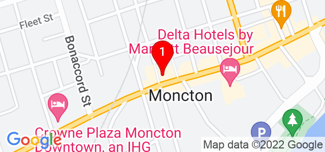 Google Map of 827 Main Street, Moncton, NB, Canada