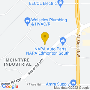 Map to German Canadian Cultural Centre provided by Google