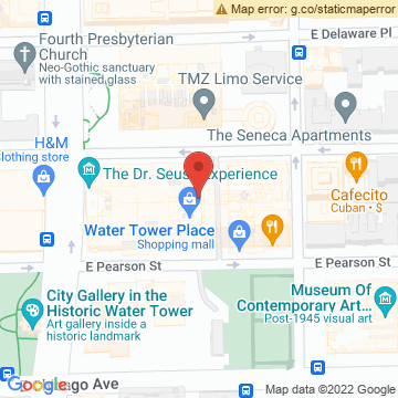Google Map of 835 N Michigan Ave Chicago, IL 60611