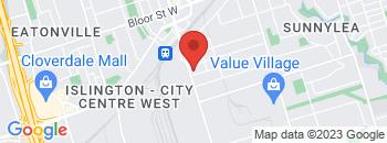 Google Map of 867+Kipling+Avenue%2CEtobicoke%2COntario+M8Z+5H1