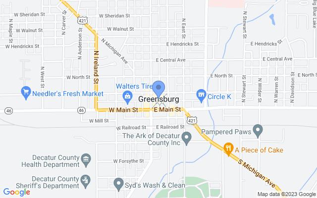 900 North Big Blue Avenue, Greensburg, IN 47240, USA