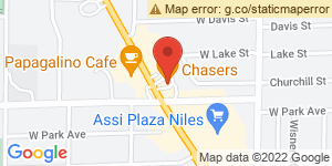 Chasers Bar & Grill Location