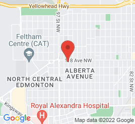 Google Map of 9549+-+118+Avenue%2CEdmonton%2CAlberta+T5G+0N9