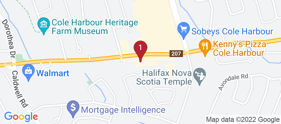 Google Map of 978 Cole Harbour Rd, Dartmouth, Canada