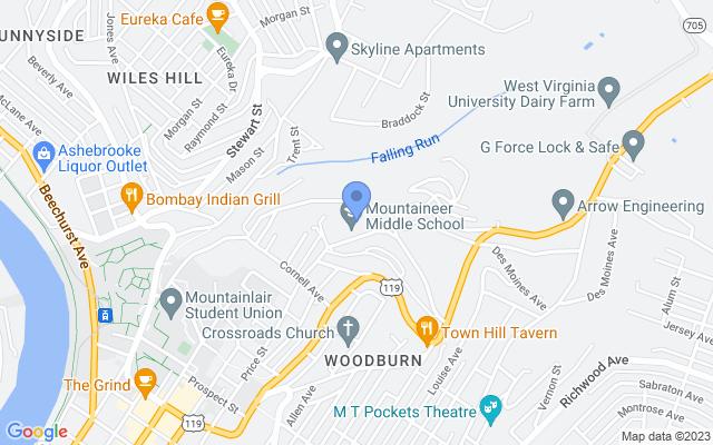 991 Price St, Morgantown, WV 26505, USA